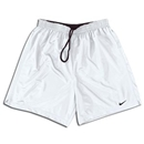 Nike Park Plus Soccer Shorts (White)