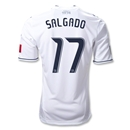 Vancouver Whitecaps FC 2012 SALGADO Authentic Home Soccer Jersey
