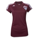 Colorado Rapids 2012 Home Women's Soccer Jersey