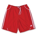 adidas Women's Equipo Soccer Shorts (Red)