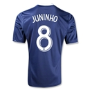 New York Red Bulls 2013 JUNINHO Secondary Soccer Jersey