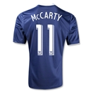 New York Red Bulls 2013 MCCARTY Secondary Soccer Jersey