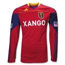 Real Salt Lake 2010 MLS LS Authentic Home Soccer Jersey