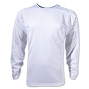 Team Long Sleeve Training Jersey (White)