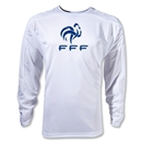 France FFF LS Training Jersey (White)