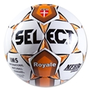 Select Royale NFHS Soccer Ball (White/Orange)