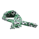 Soccer Ball Fleece Scarf (Green)