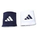 adidas Interval Reversible Wristband (Navy/White)