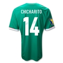 Mexico 11/12 CHICHARITO Home Soccer Jersey