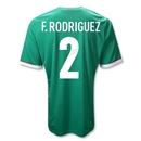 Mexico 11/12 F. RODRIGUEZ Jersey de Futbol Local