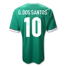 Mexico 11/12 G. DOS-SANTOS 10 Jersey de Futbol Local