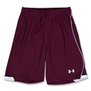 Under Armour Strike Short (Maroon/Wht)