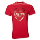 Arsenal 10/11 Foil Crest T-Shirt