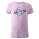 Life is Good Girl's Ballyard Script Soccer T-Shirt