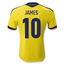 Colombia 11/13 JAMES Home Soccer Jersey