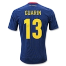 Colombia 11/13 GUARIN Away Soccer Jersey