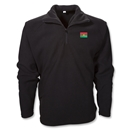 Burkina Faso 1/4 Zip Fleece Jacket