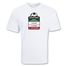Rules Card Soccer T-Shirt (White)