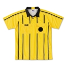 RefGear Pro Soccer Referee Jersey (Yellow)