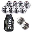 Select Royale Soccer Ball Kit (Wh/Bk)