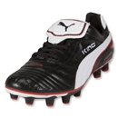 PUMA King Finale i FG Cleats (Black/White/PUMA Red)