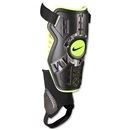 Nike T90 Protegga Shin Guards (BLACK/VOLT/BLACK)