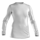 Under Armour The ColdGear Fitted Crew (White)