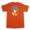GK1 Be All World Soccer T-Shirt (Orange)