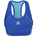 adidas Women's Techfit Solid Bra (Blue)