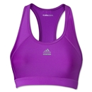 adidas Women's Techfit Solid Bra (Purple)