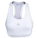 adidas Women's Techfit Solid Bra (White)