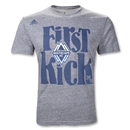 Vancouver Whitecaps MLS 2011 First Kick T-Shirt