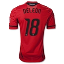 DC United 2012 DELEON Authentic Third Soccer Jersey