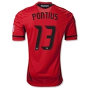 D.C. United 2012 PONTIUS Authentic Third Soccer Jersey