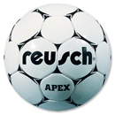 Reusch Apex Match Soccer Ball (Black/White)