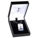 Tottenham Hotspur Color Dog Tag with Chain
