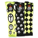 Peace/Jester/Paws Sock (Neon Green)