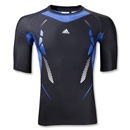 adidas TechFit SS Recovery Top (Black)