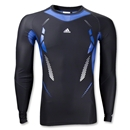 adidas TechFit Recovery Long Sleeve Top (Black)