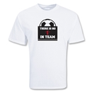 No I in Team Soccer T-Shirt (White)