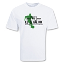 Strikers Food Soccer T-Shirt (White)