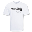 Nobody's Perfect Soccer T-Shirt (White)
