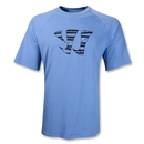 Warrior All Hail Tech T-Shirt (Blue)