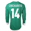Mexico 11/12 CHICHARITO Home Long Sleeve Soccer Jersey