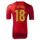 Russia 2012 SEMAK Authentic Home Soccer Jersey