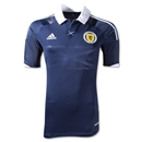Scotland 11/13 Authentic Home Soccer Jersey