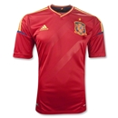 Spain 11/13 Home Soccer Jersey