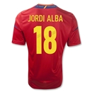 Spain 11/13 ALBA Home Soccer Jersey