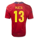 Spain 11/13 MATA Home Soccer Jersey
