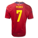 Spain 11/13 PEDRO Home Soccer Jersey